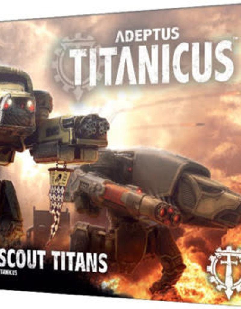 Adeptus Titanicus Adeptus Titanicus Warhound Scout Titans