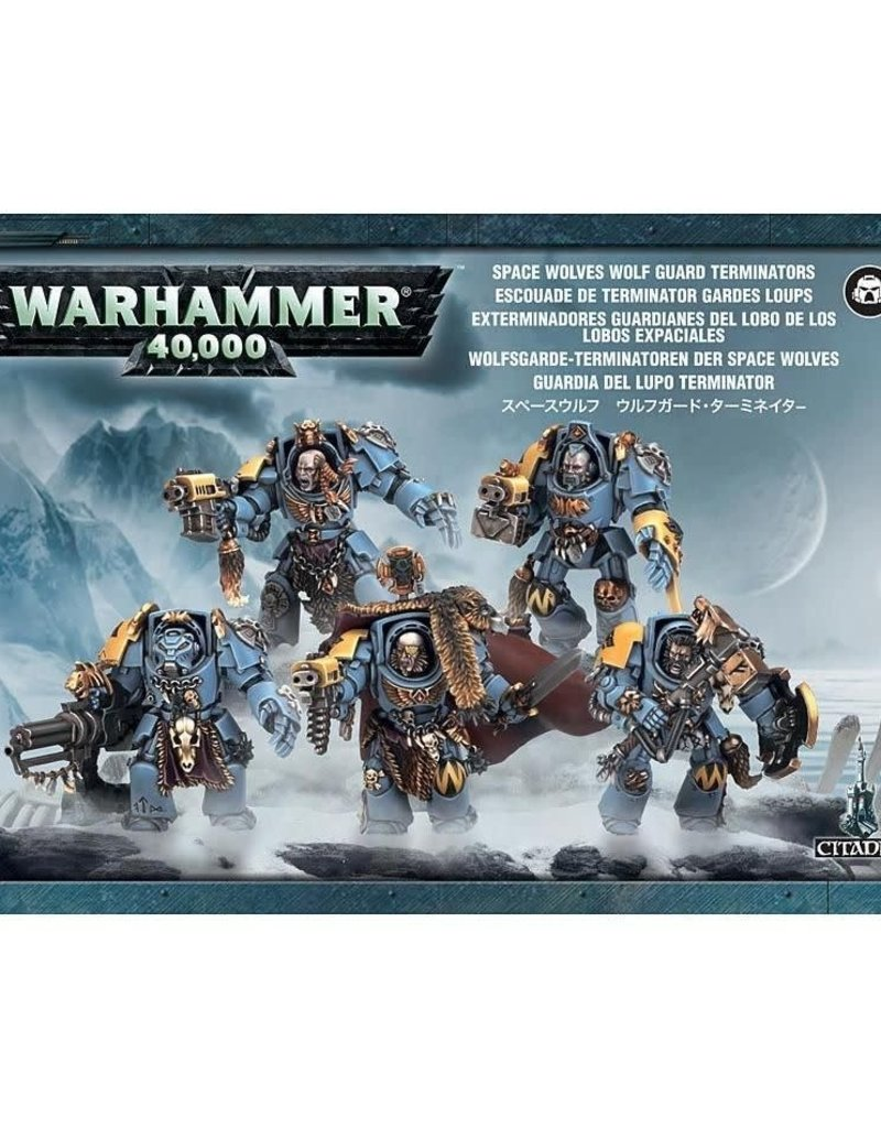 Warhammer 40K Space Wolves Wolf Guard Terminators