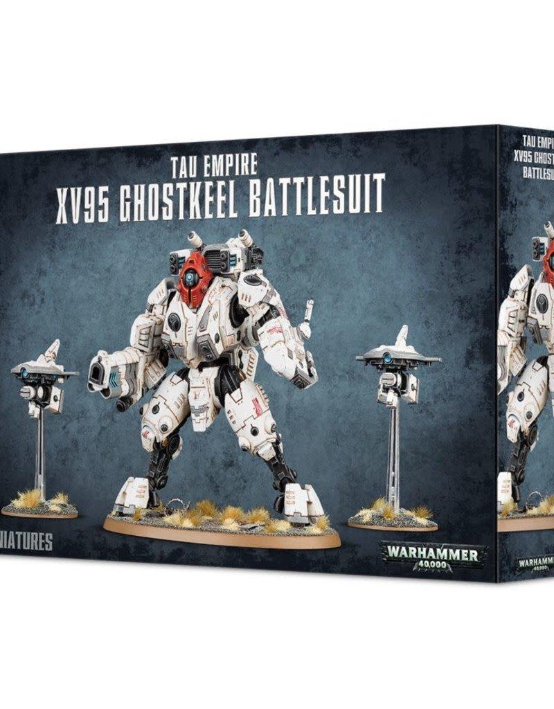 Warhammer 40K Tau Empire XV95 Ghostkeel Battlesuit