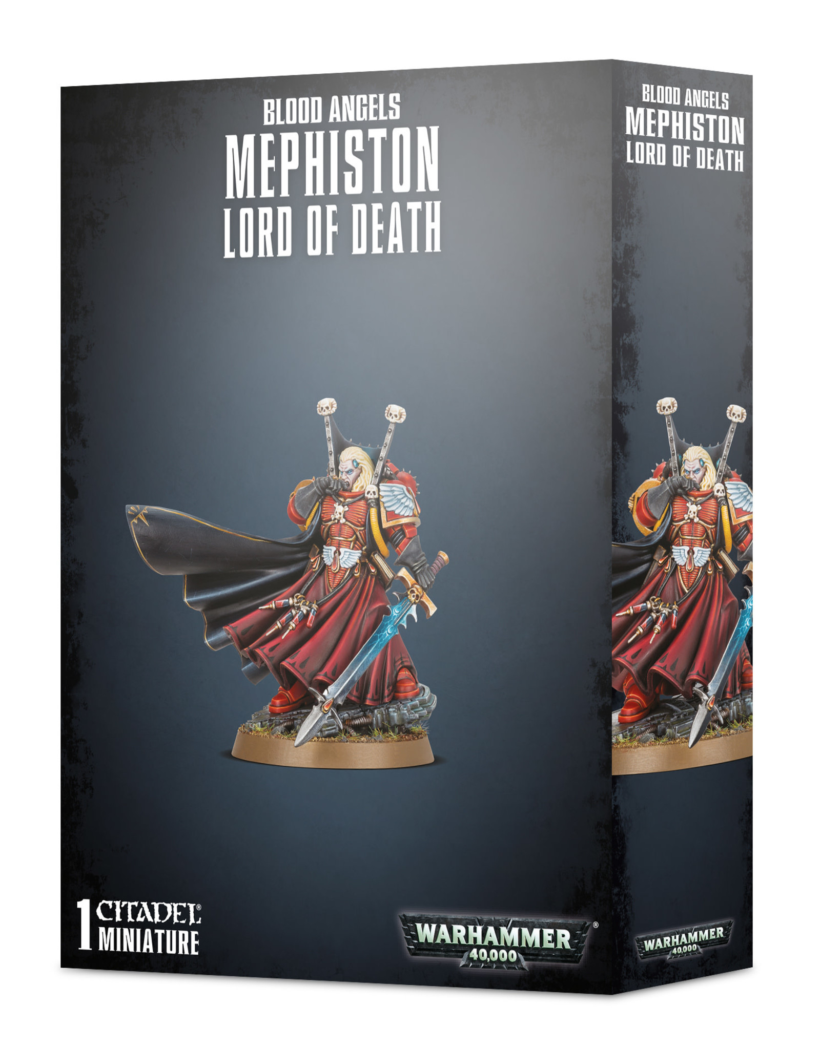 Warhammer 40K Blood Angels Mephiston Lord of Death