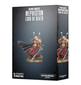 Warhammer 40K Blood Angels Mephiston Lord of Death