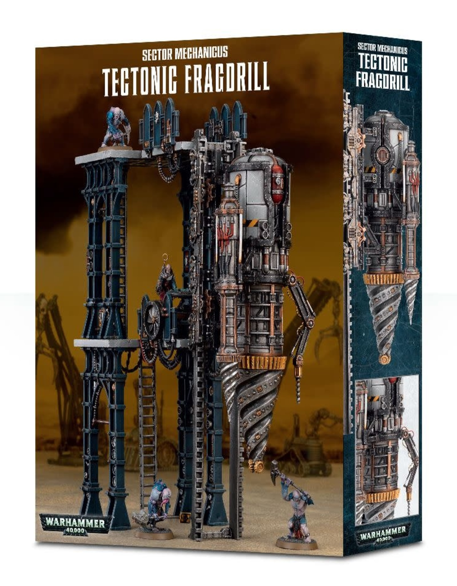 Warhammer 40K Sector Mechanicus: Tectonic Fragdrill