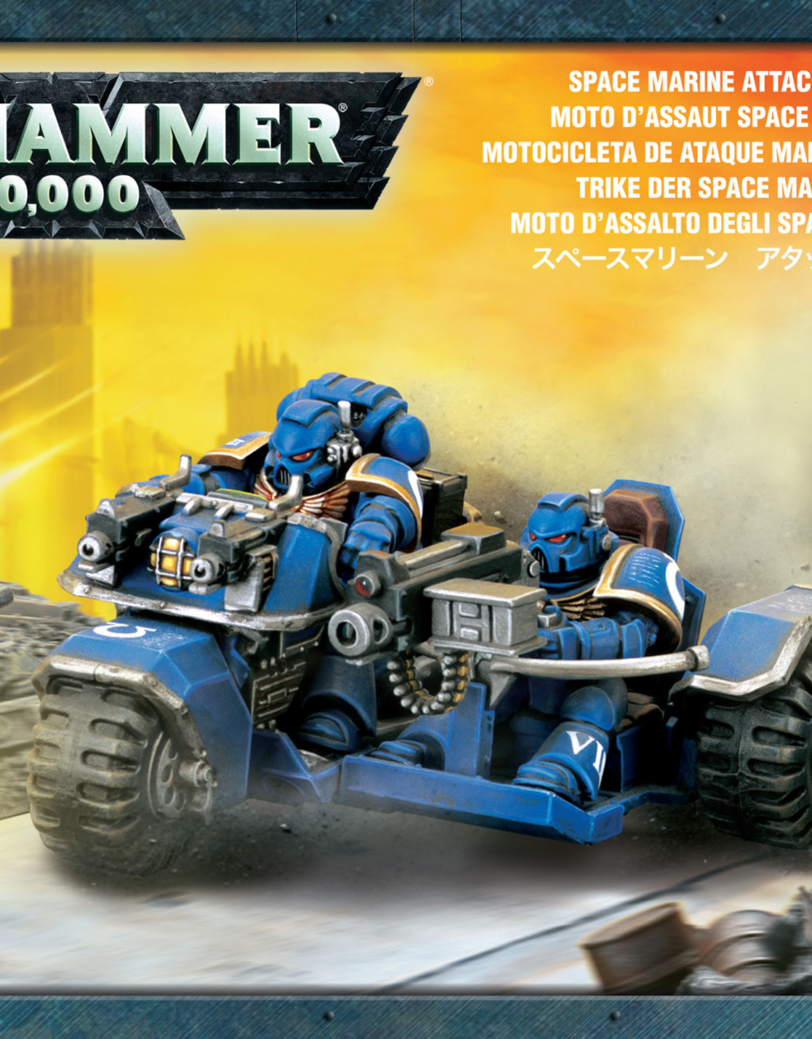 Warhammer 40K Space Marine Attack Bike