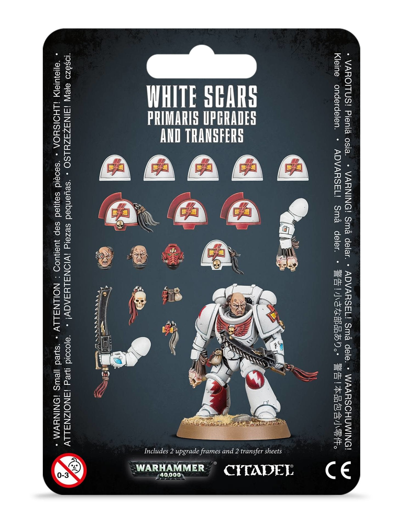 Warhammer 40K White Scar Primaris Upgrades and Transfers