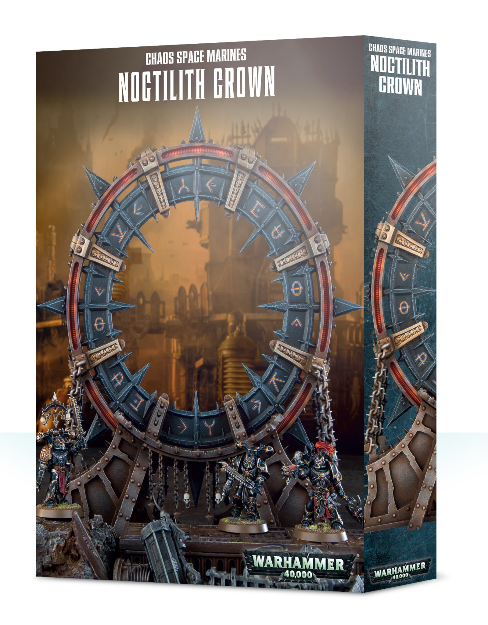 Warhammer 40K Chaos Space Marines Noctilith Crown