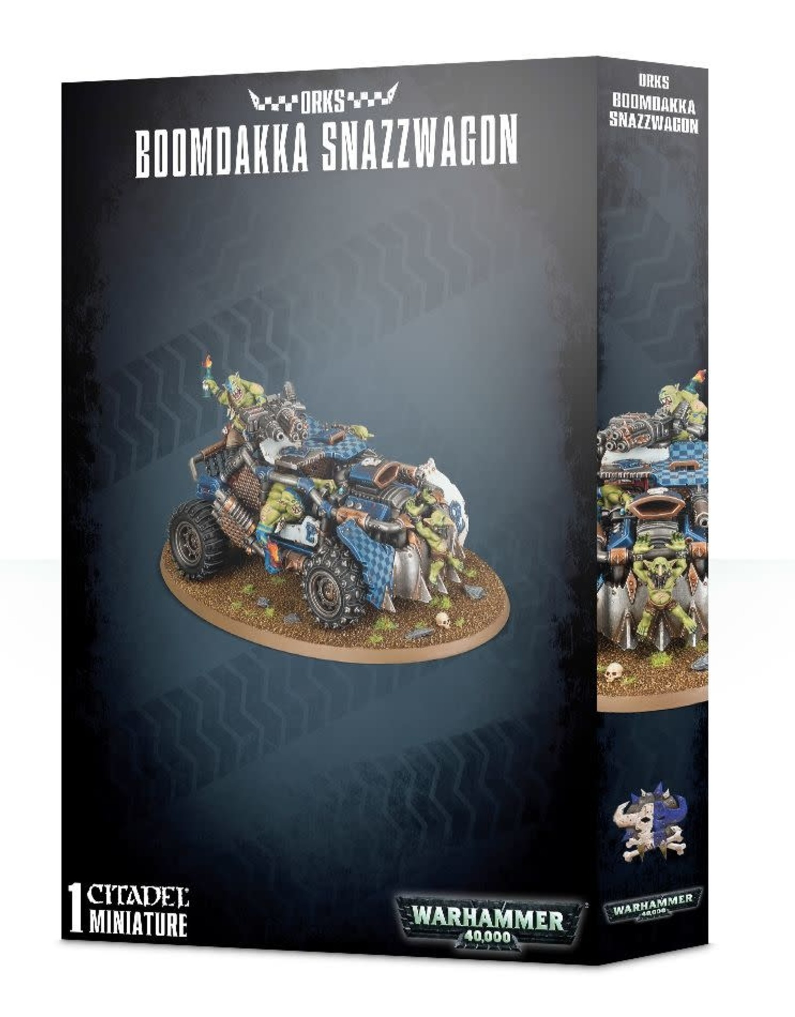 Warhammer 40K Orks Boomdakka Snazzwagon