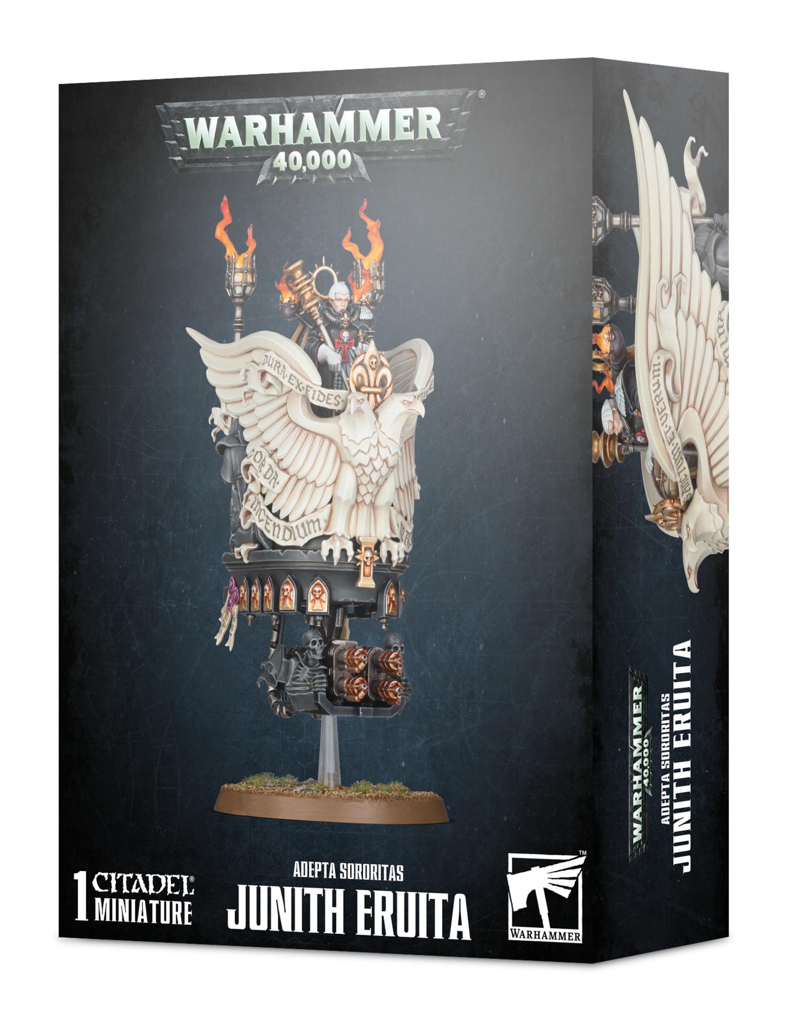 Warhammer 40K Adepta Sororitas Junith Eruita