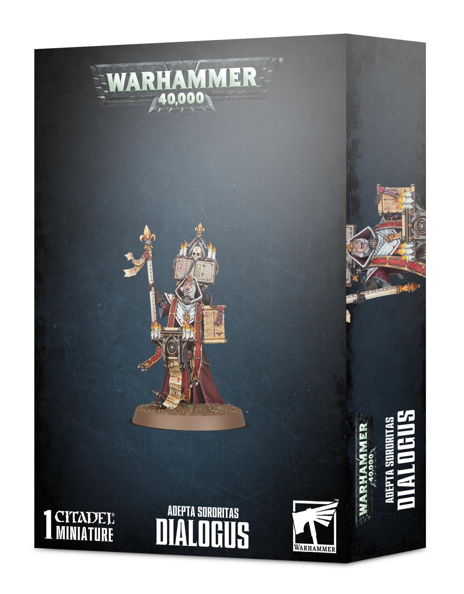 Warhammer 40K Adepta Sororitas Dialogus