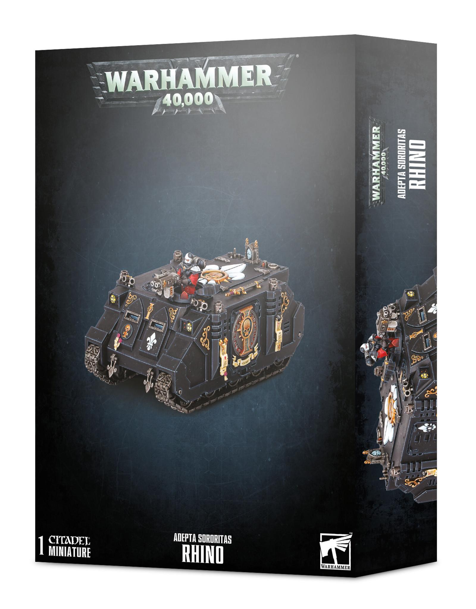 Warhammer 40K Adepta Sororitas Rhino