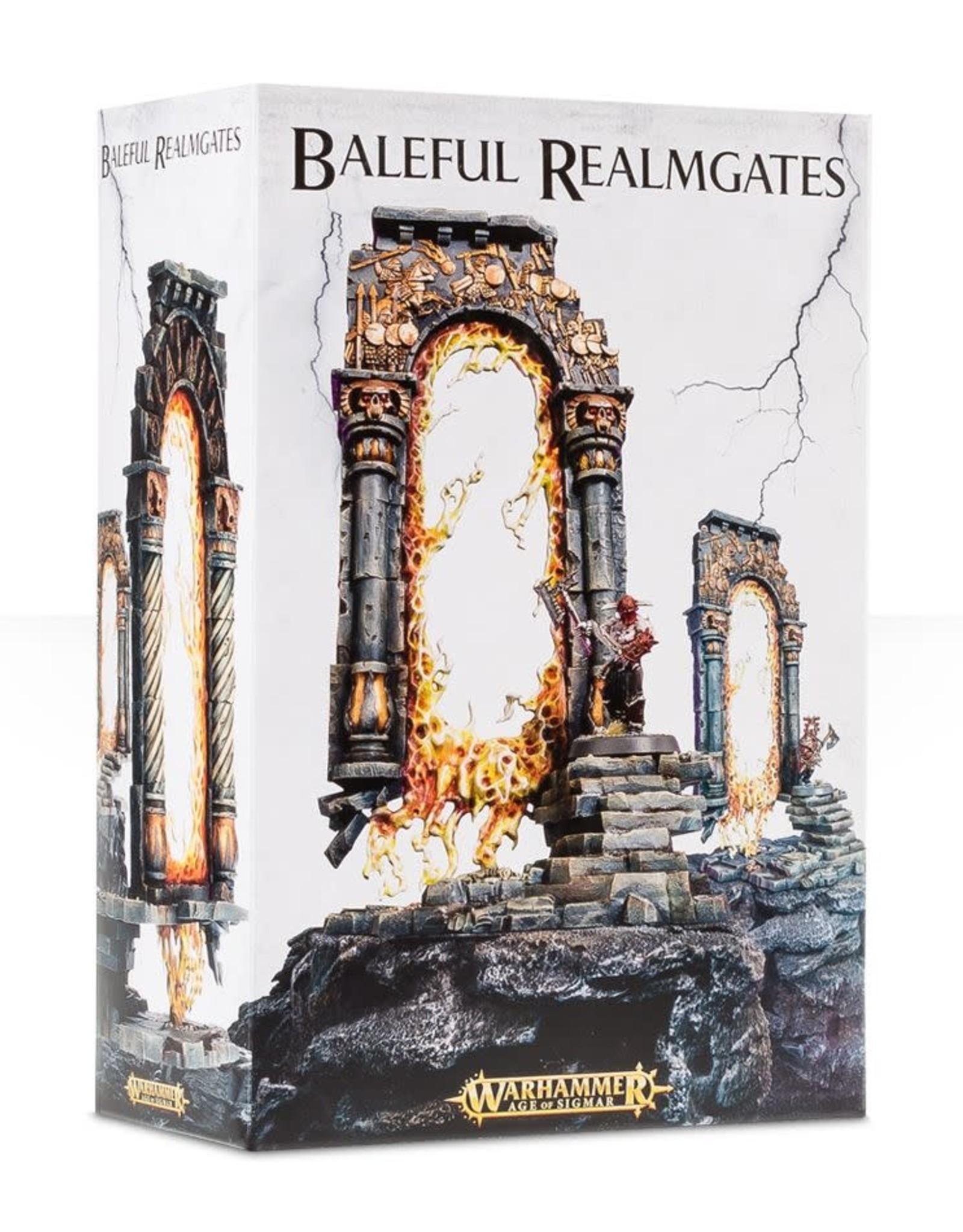 Age of Sigmar Baleful Realmgates