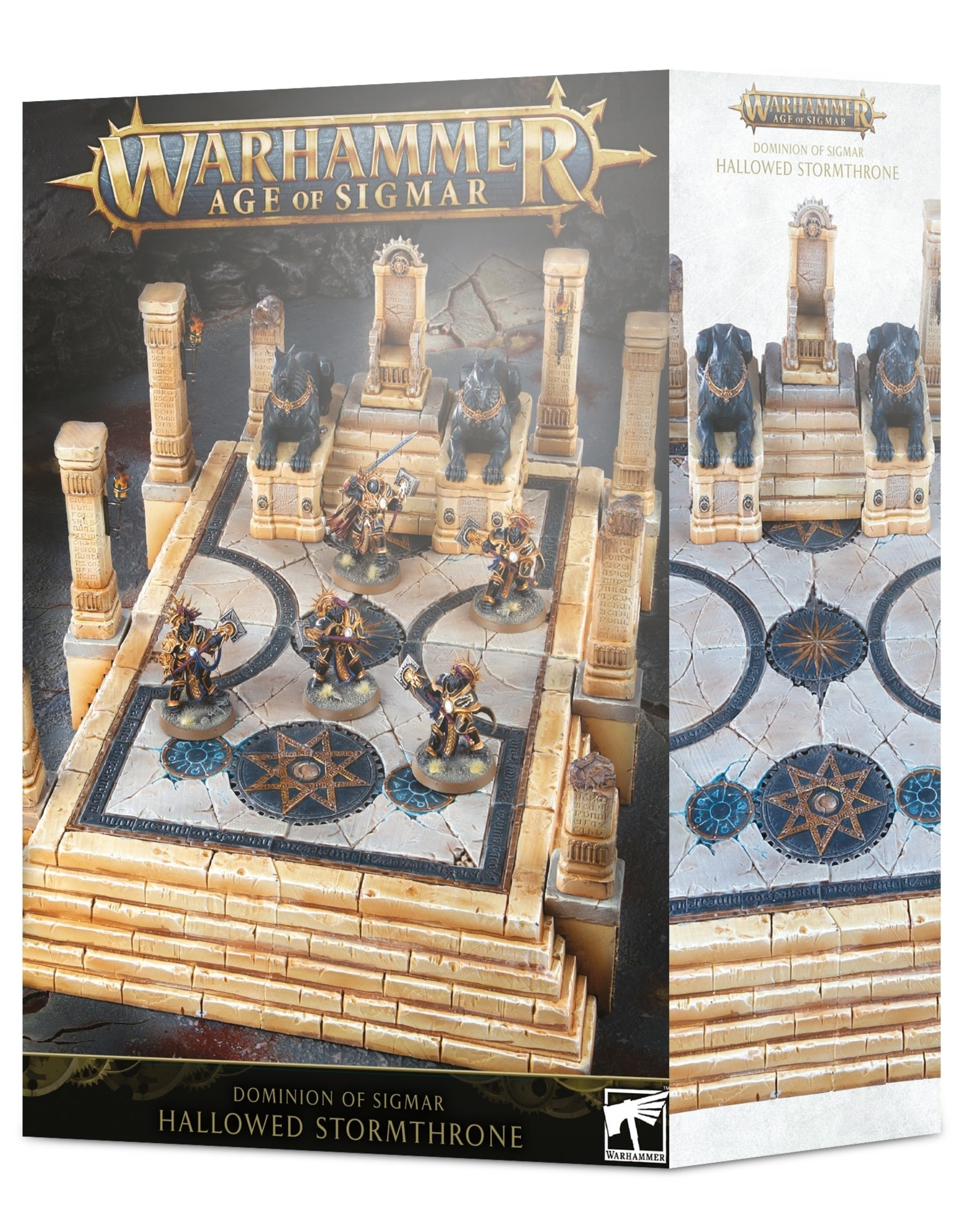Age of Sigmar Dominion of Sigmar: Hallowed Stormthrone