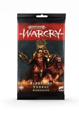 WarCry Warcry: Blades of Khorne Bloodbound Card Pack