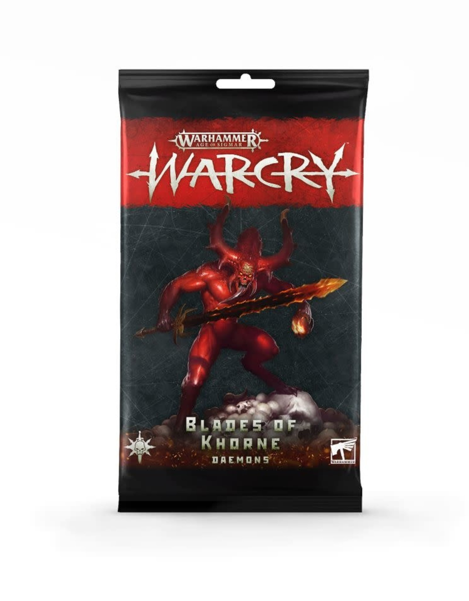 WarCry Warcry: Daemons of Khorne Card Pack