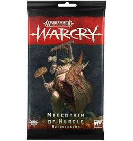 WarCry Warcry: Nurgle Rotbringers Card pack