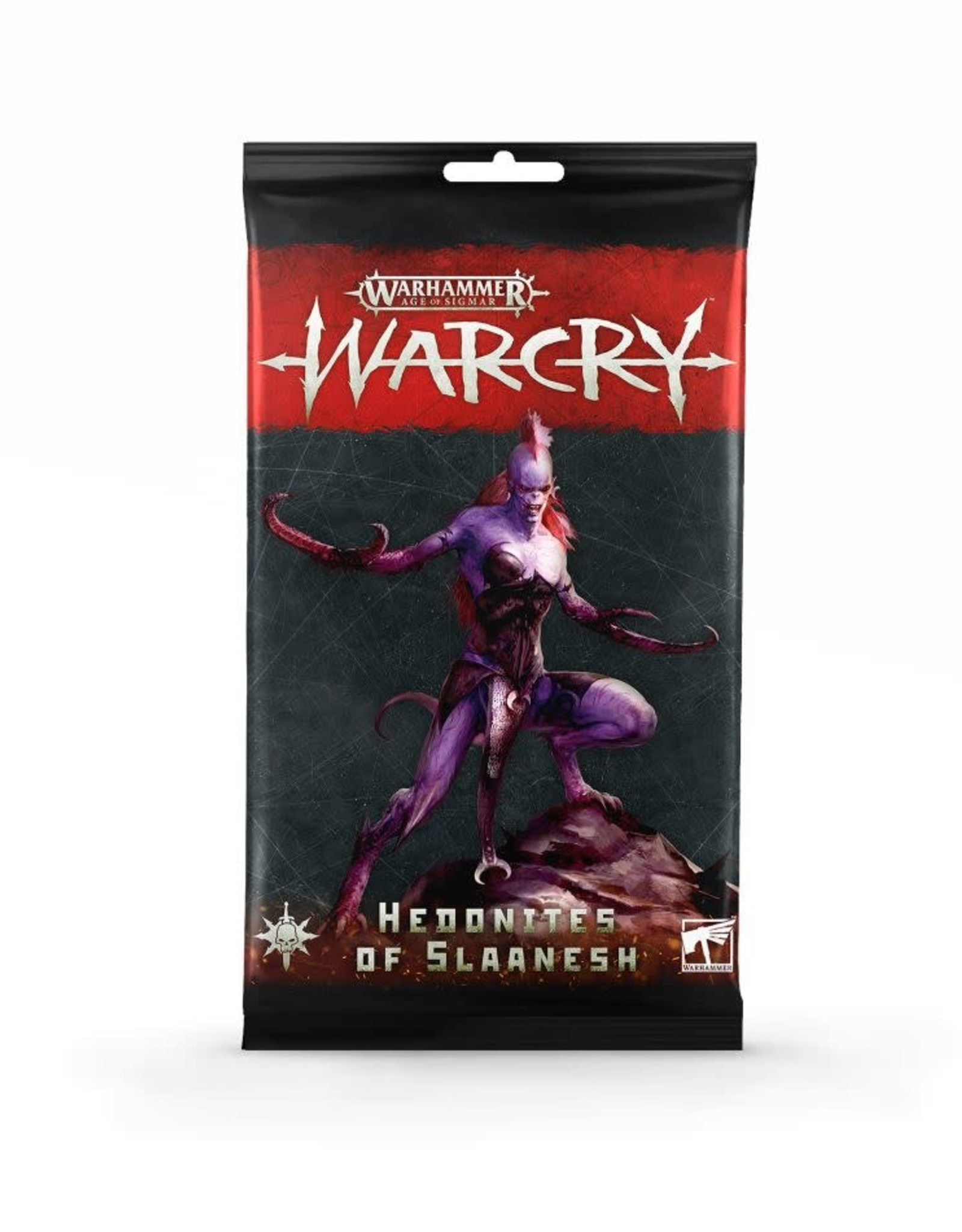 WarCry Warcry: Hedonites of Slaanesh Card Pack