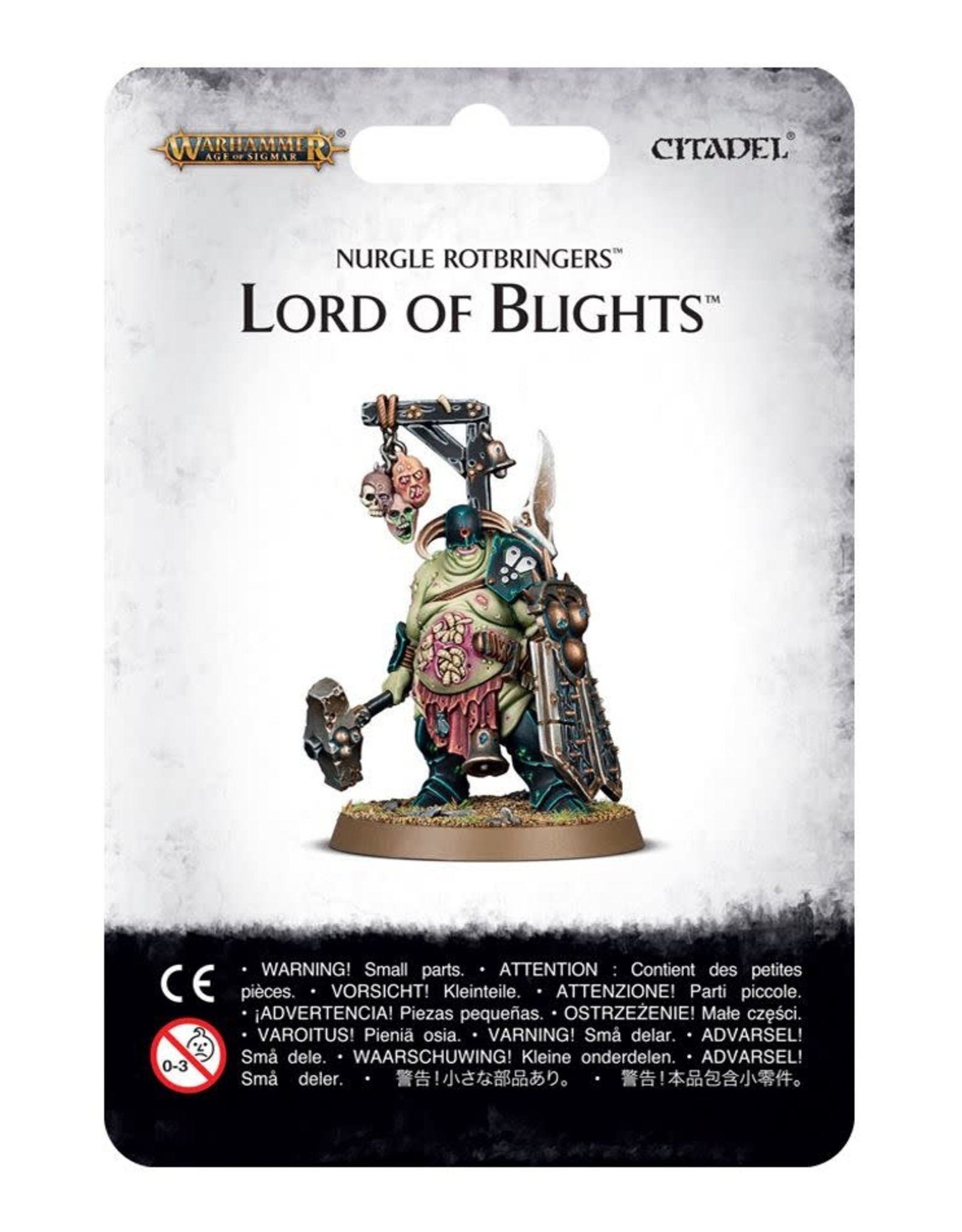 Age of Sigmar Nurgle Rotbringers Lord of Blights