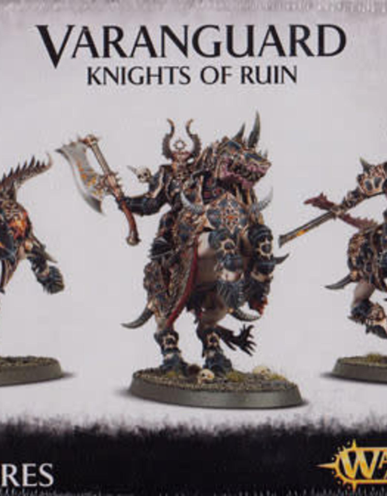 Age of Sigmar Everchosen Varanguard Knights of Ruin