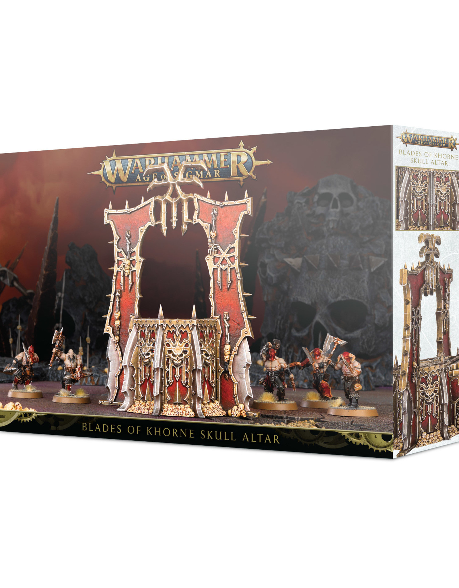 Age of Sigmar Blades of Khorne: Skull Altar