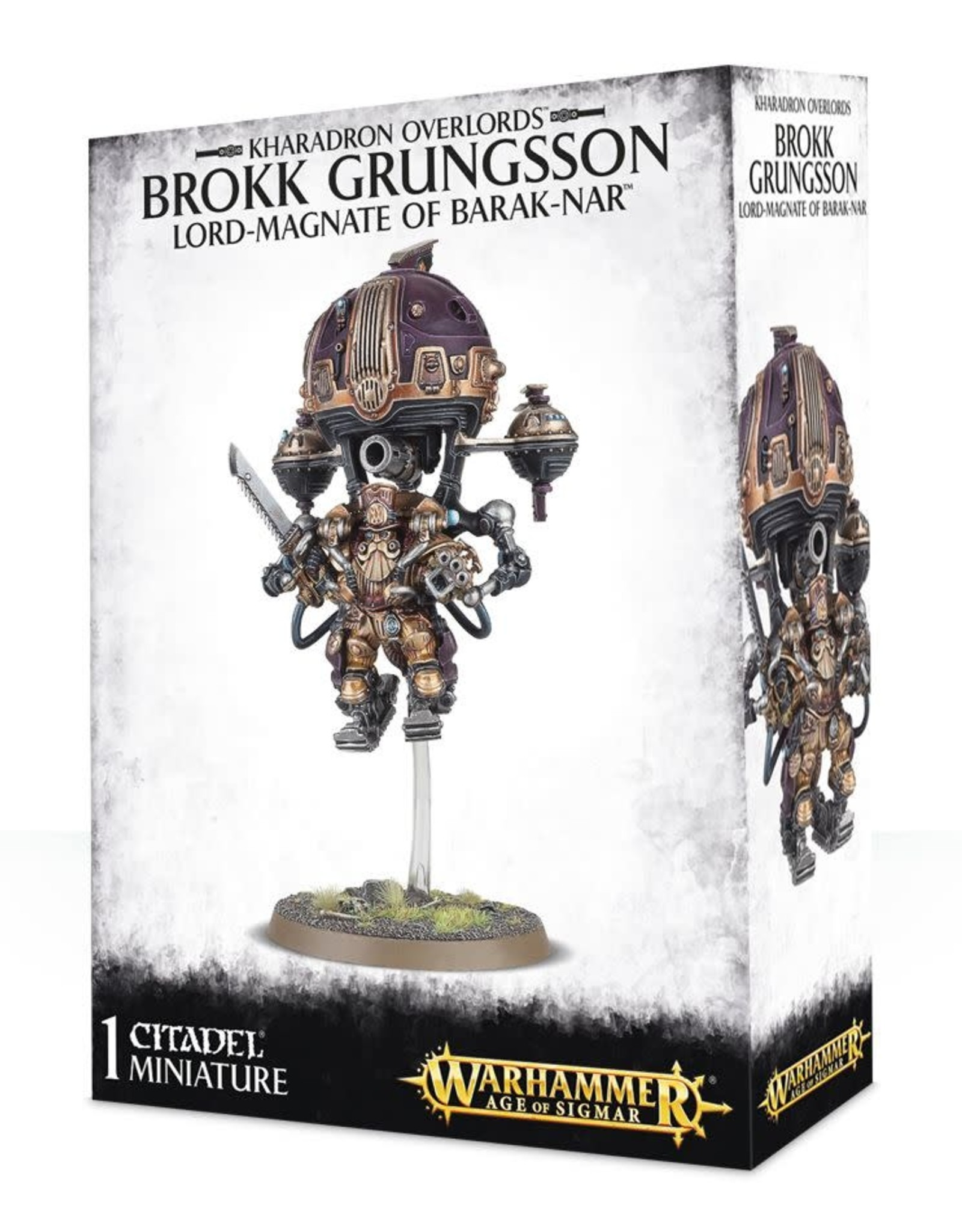 Age of Sigmar Brokk Grungsson Lord-Magnate Barak-Nar
