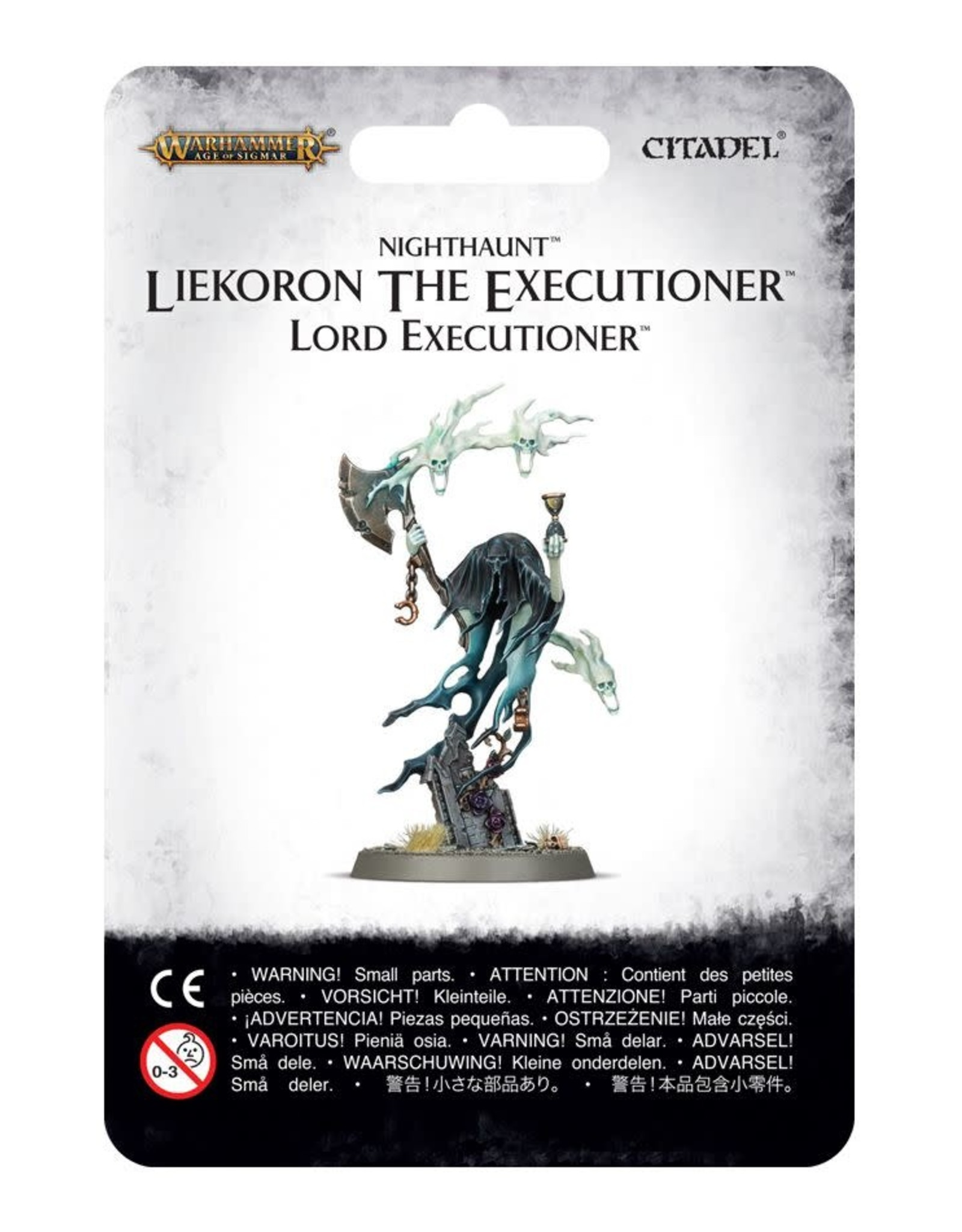 Age of Sigmar Nighthaunt Liekoron the Executioner