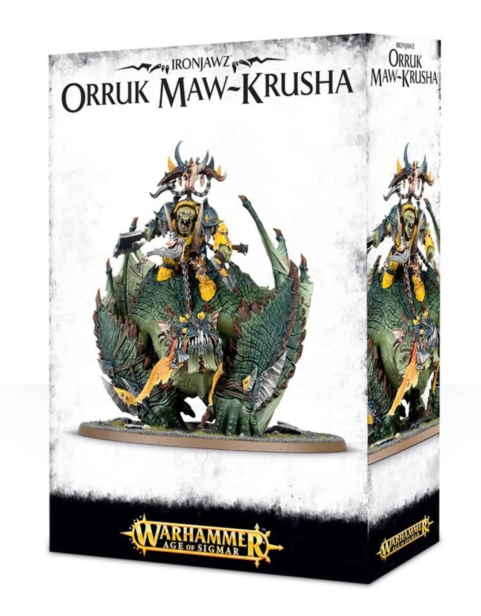 Age of Sigmar Ironjawz Orruk Maw-Krusha