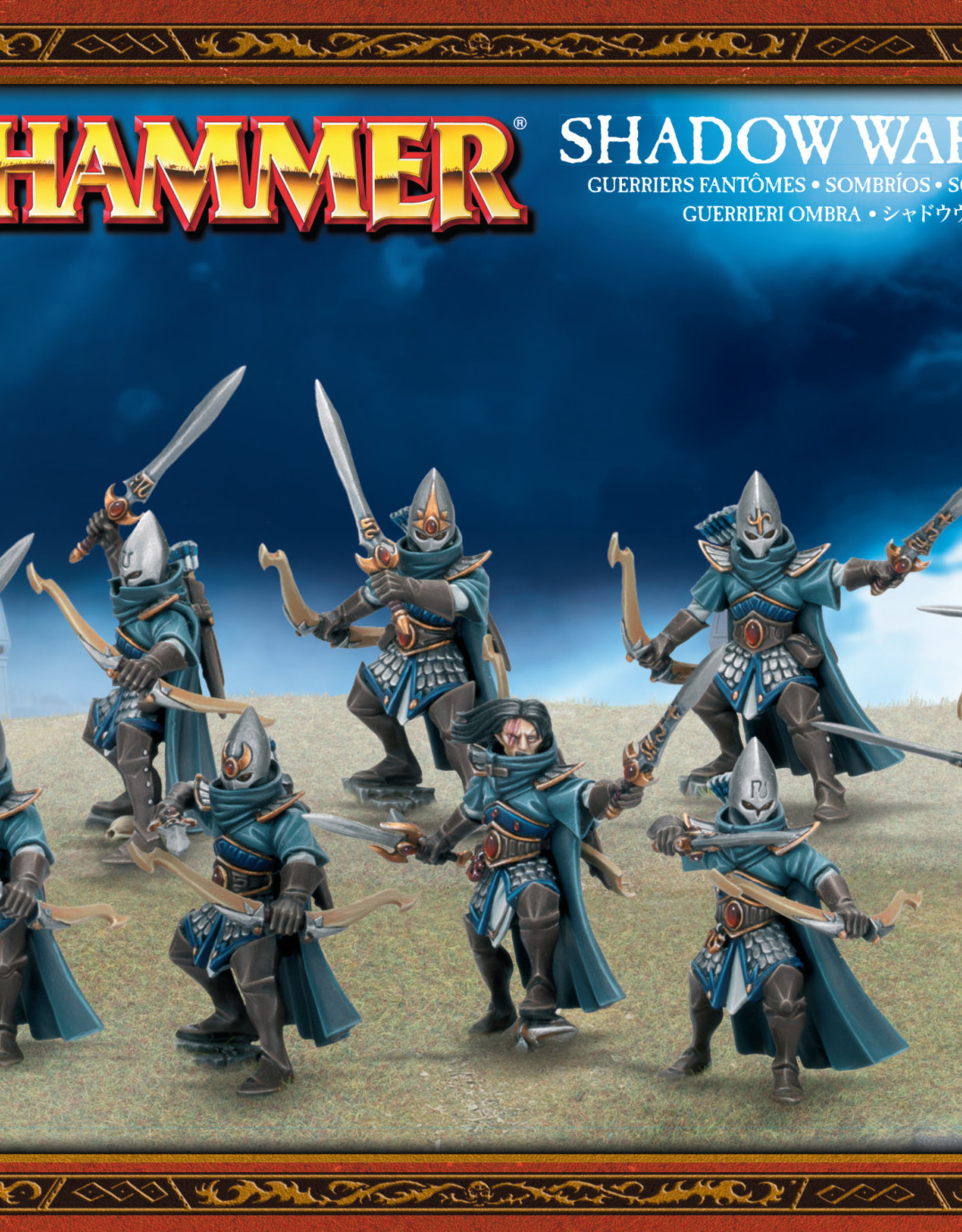 Age of Sigmar High Elf Shadow Warriors