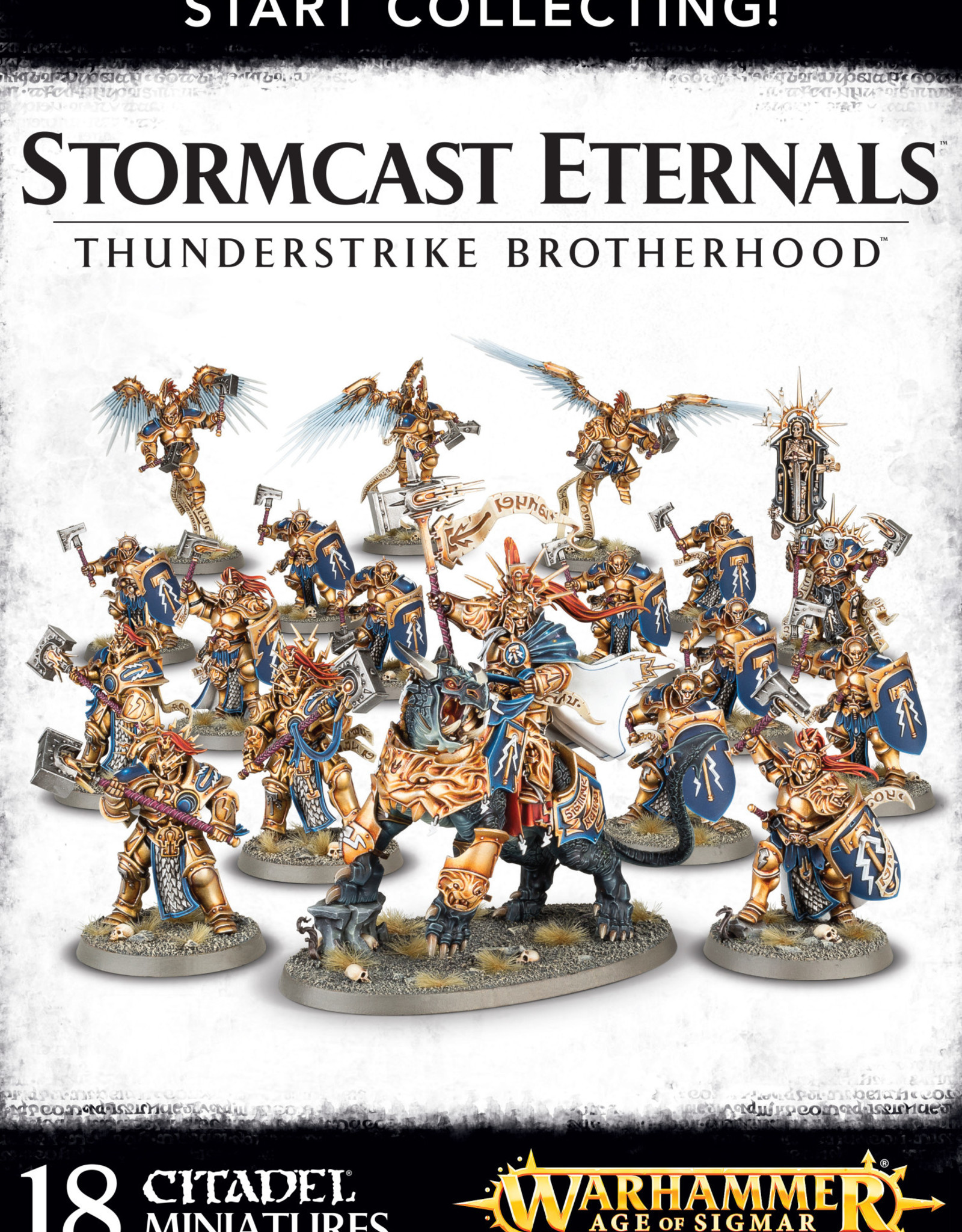 Age of Sigmar Start Collecting! Thunderstrike Brotherhood