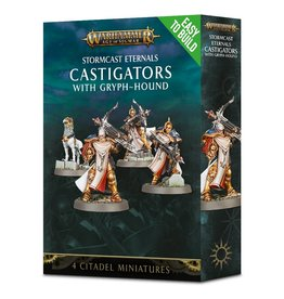 Age of Sigmar ETB: Castigators with Gryph-Hound