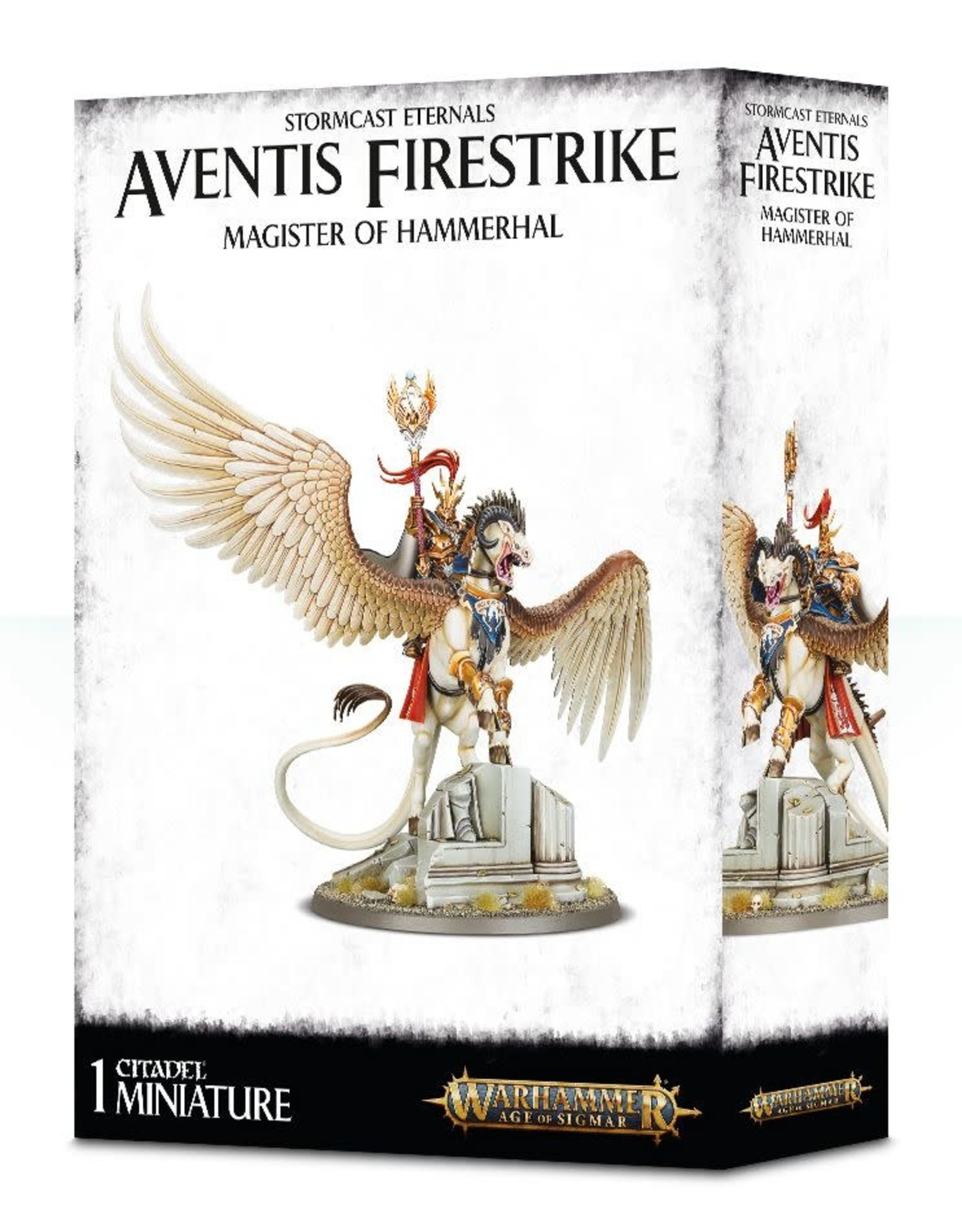 Age of Sigmar Aventis Firestrike Magister of Hammerhal