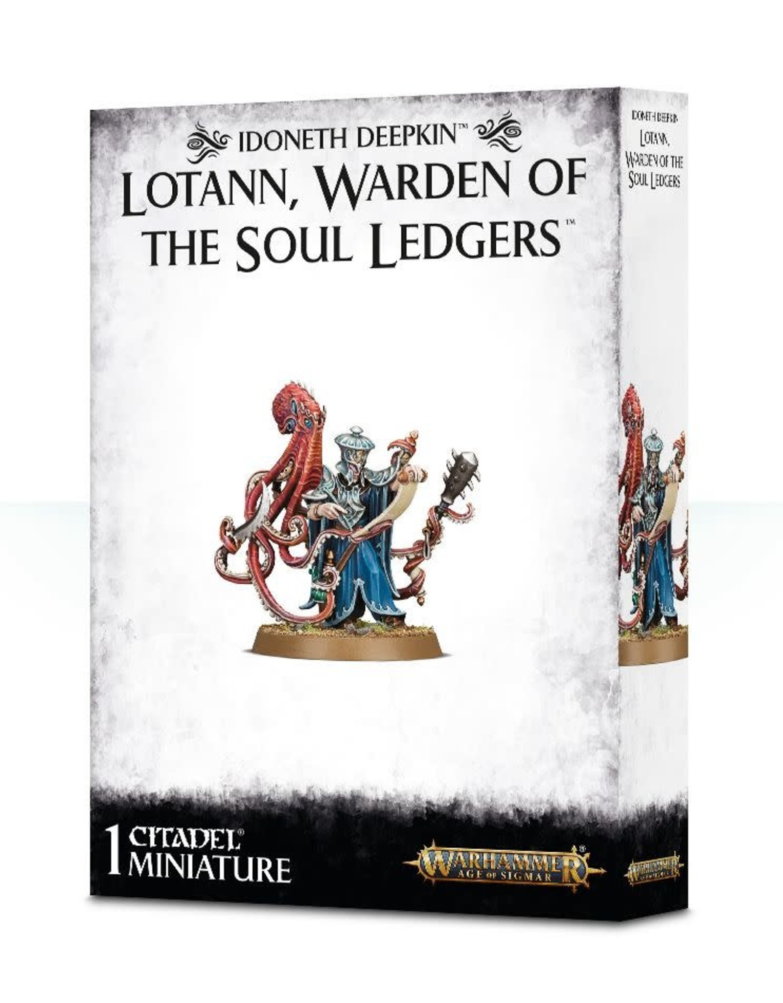 Age of Sigmar Lotann Warden of the Soul Ledgers