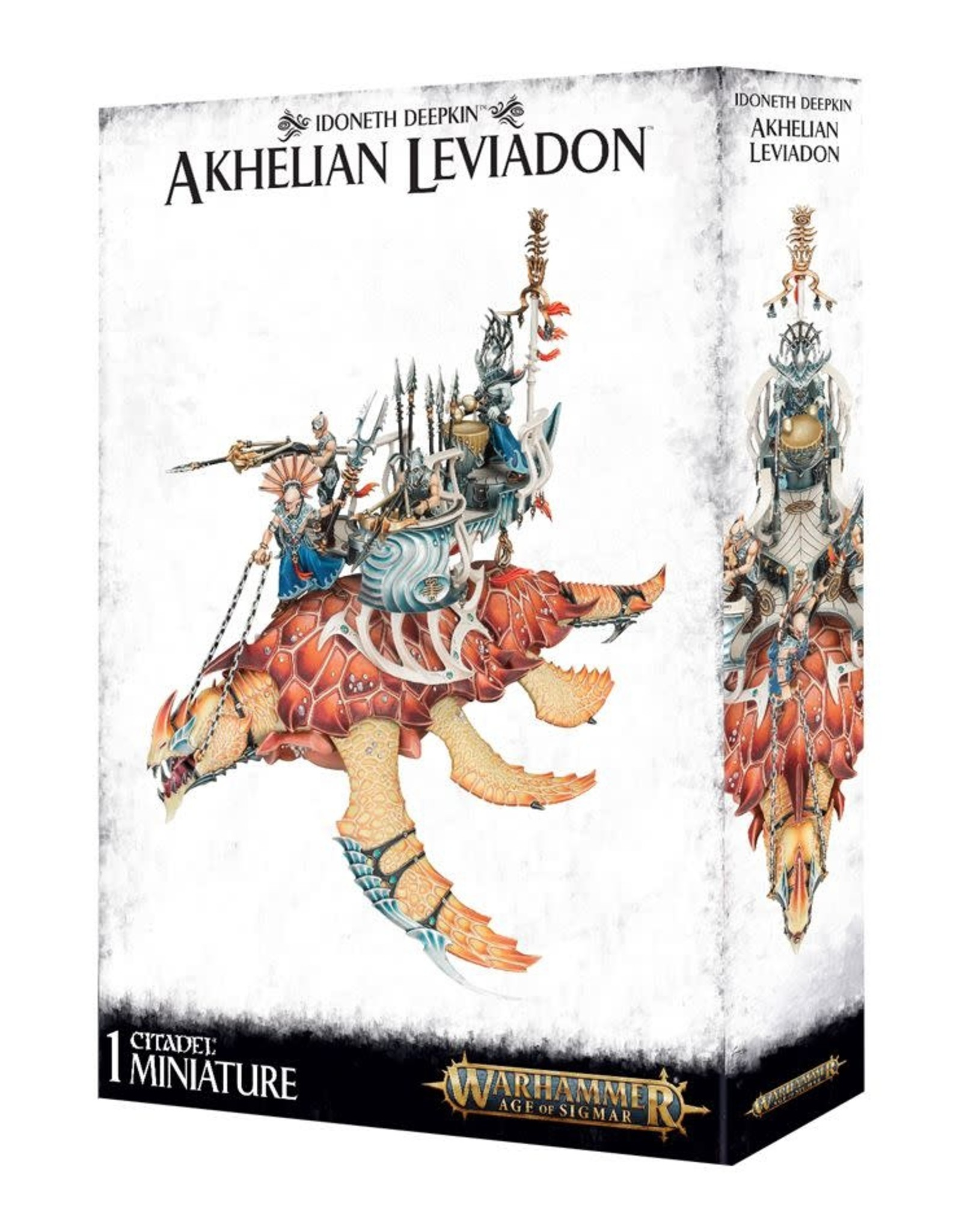 Age of Sigmar Idoneth Deepkin Akhelian Leviadon