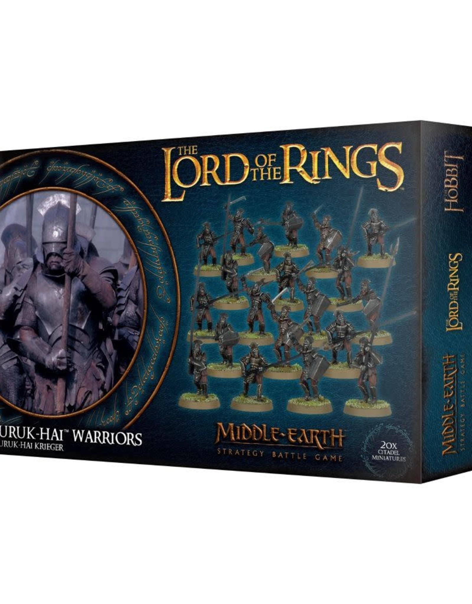 Lord of The Rings Uruk-Hai Warriors