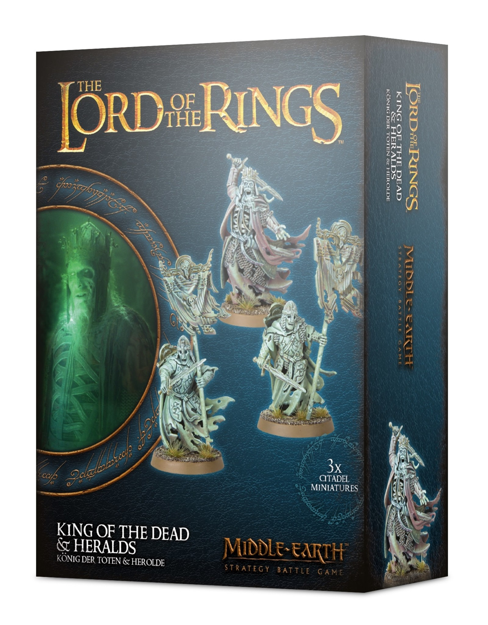 Lord of The Rings King of the Dead & Heralds