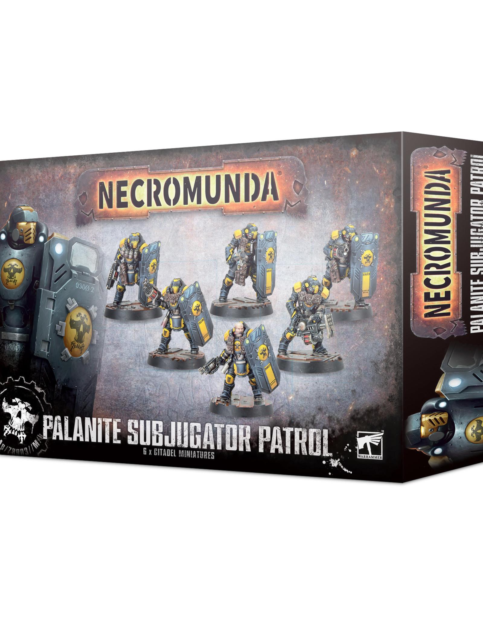 Necromunda Necromunda: Palanite Subjugator Patrol