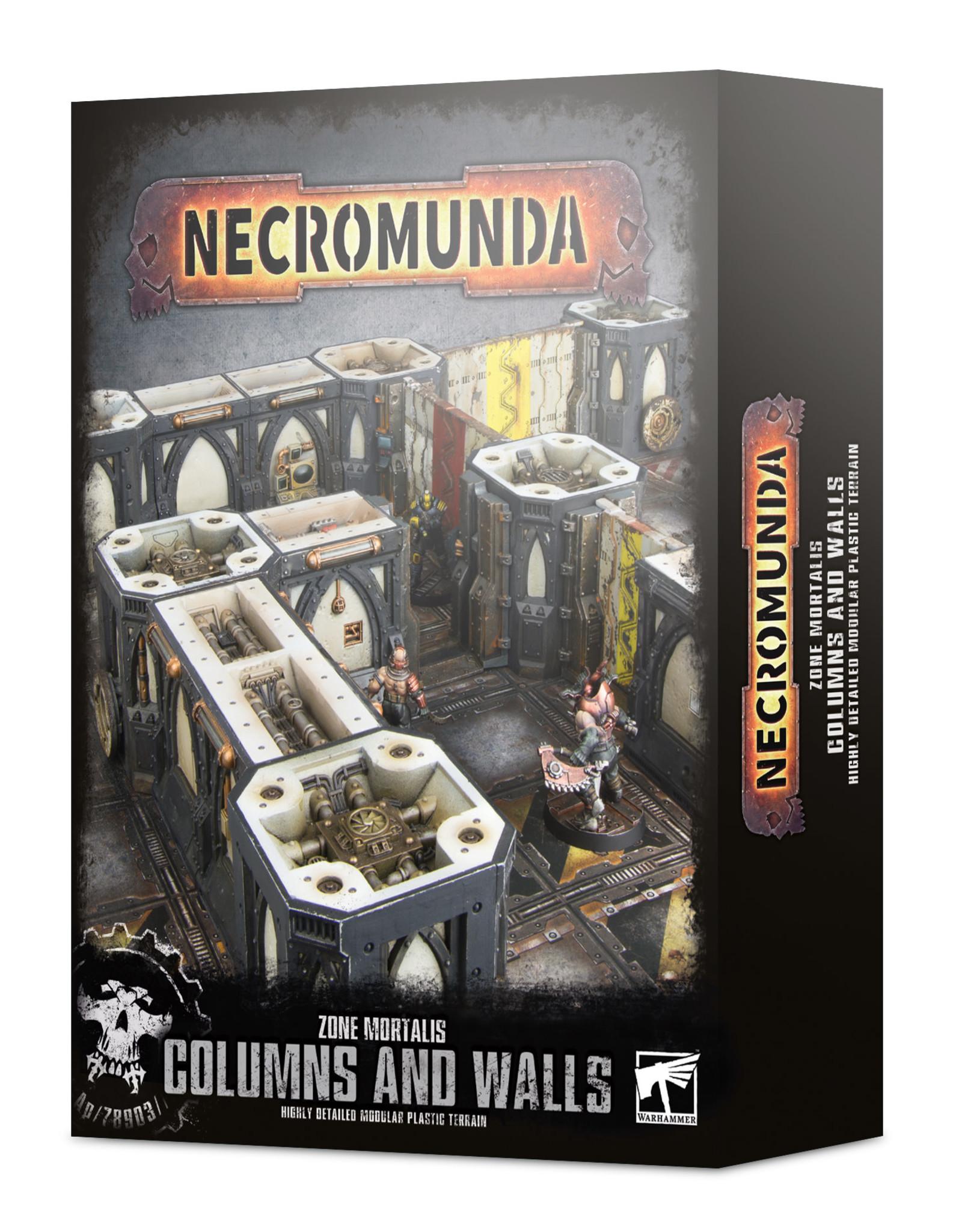 Warhammer 40K Zone Mortalis: Columns & Walls