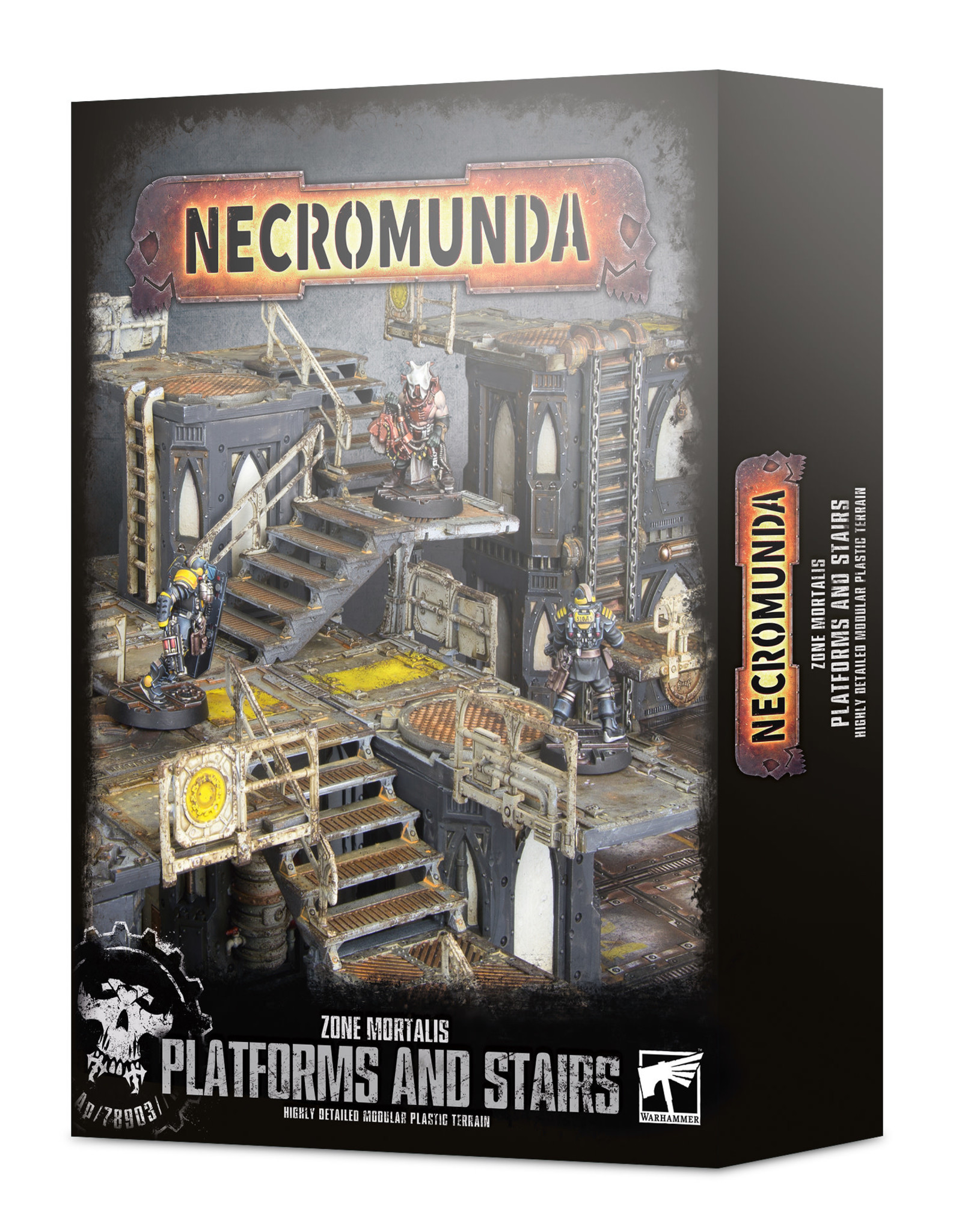 Warhammer 40K Zone Mortalis: Platforms & Stairs