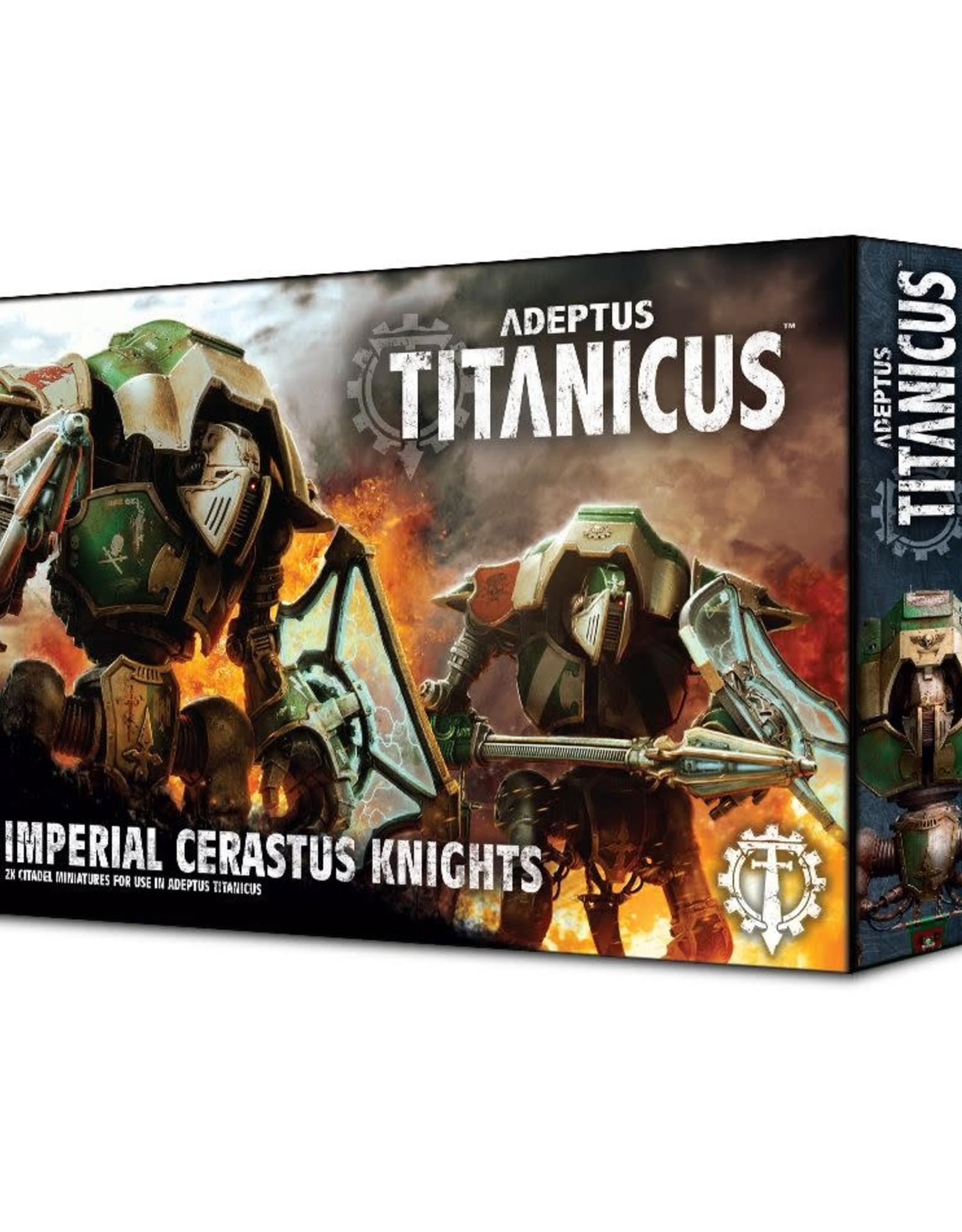 Adeptus Titanicus Adeptus Titanicus Cerastus Knights