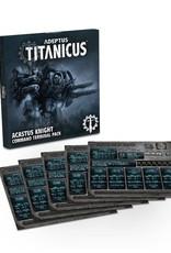 Adeptus Titanicus Acastus Knight Command Terminal Pack