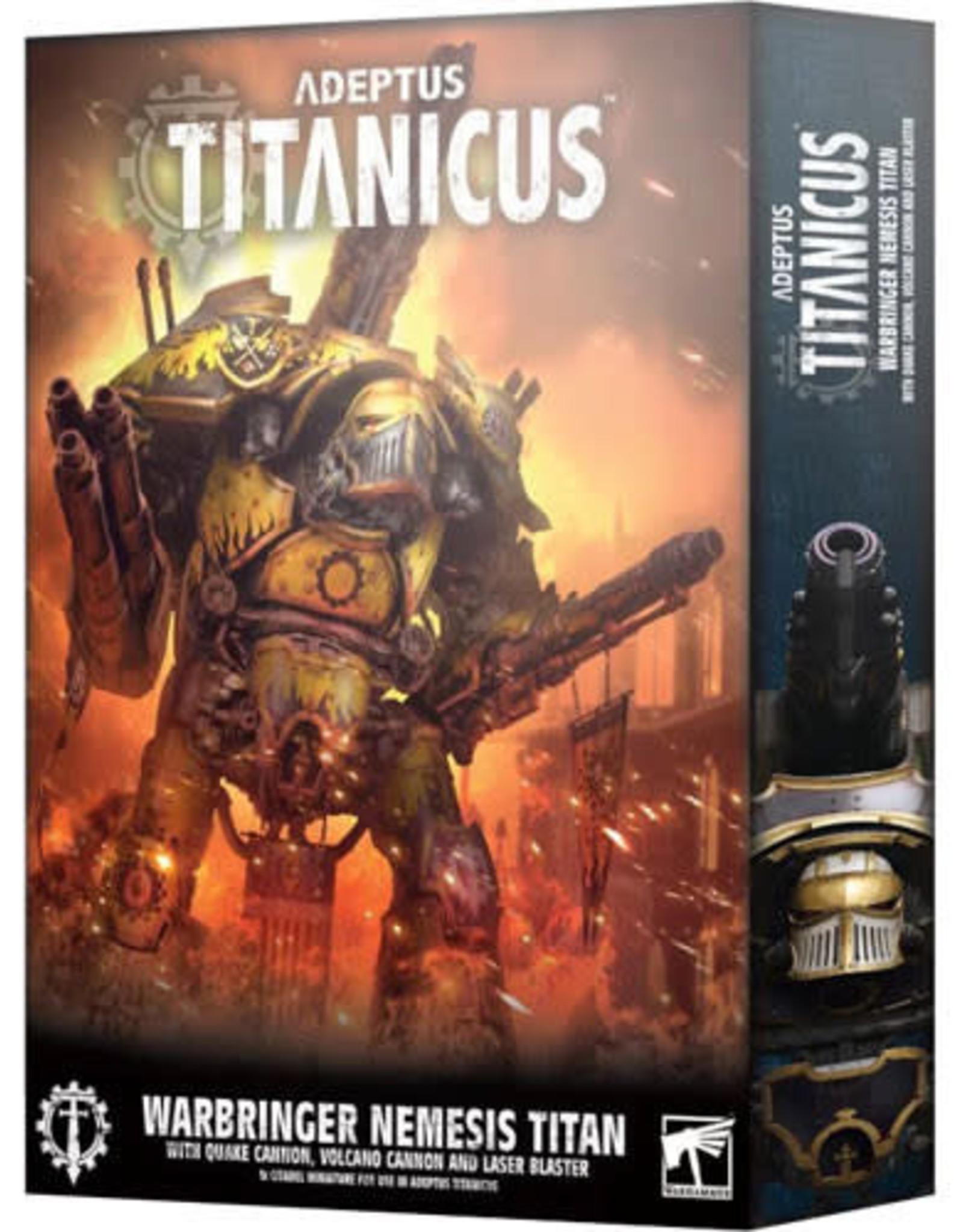 Adeptus Titanicus Warbringer Nemesis Titan W/Quake Cannon