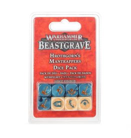 Warhammer Underworlds Warhammer Underworlds: Hrothgorn's Mantrappers Dice Set