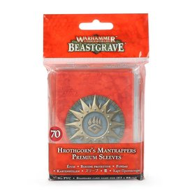 Warhammer Underworlds Warhammer Underworlds: Hrothgorn's Mantrappers Card Sleeves