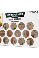 Warhammer 40K Sector Imperialis: 32MM Round Bases