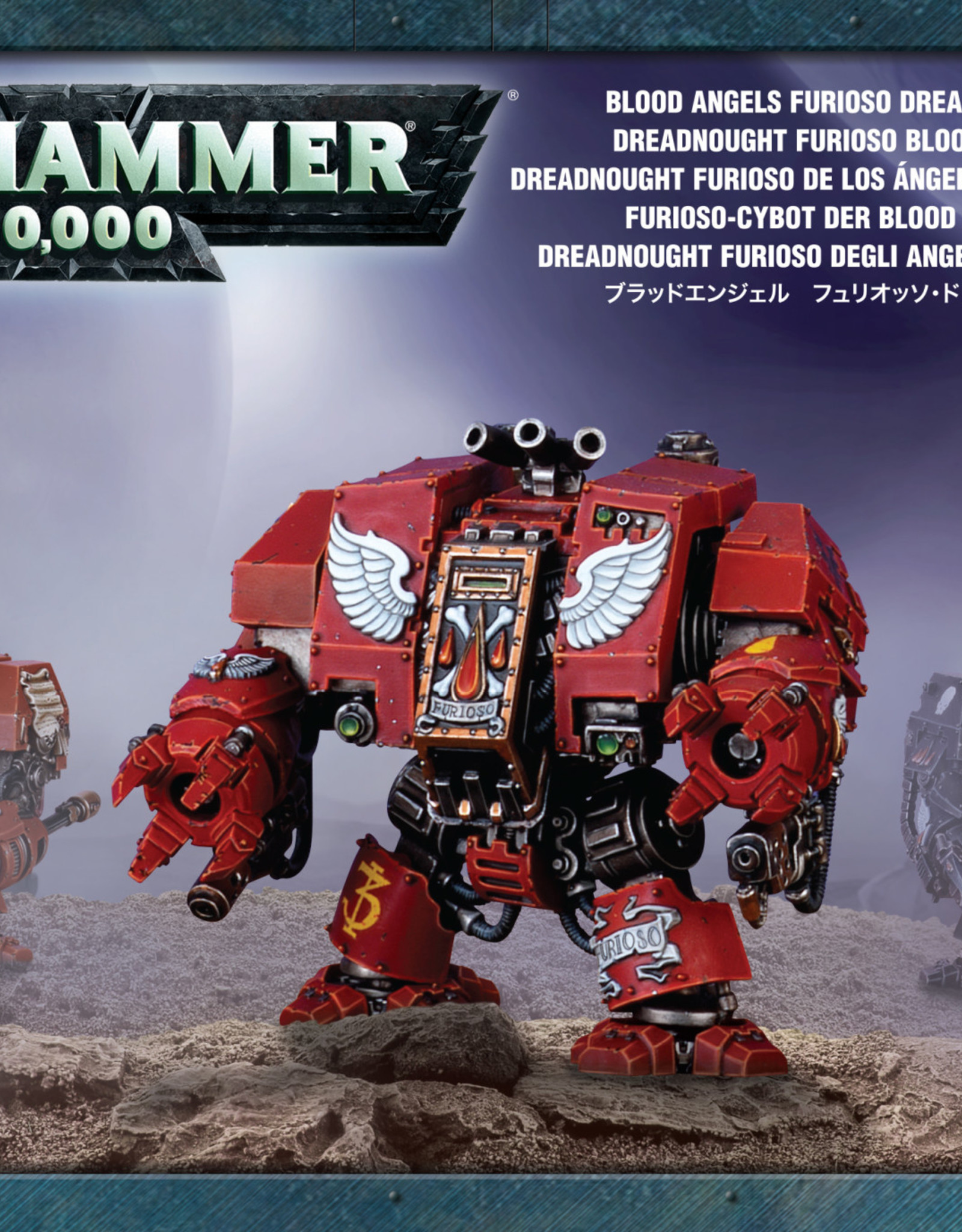 Warhammer 40K Blood Angels Furioso Dreadnought