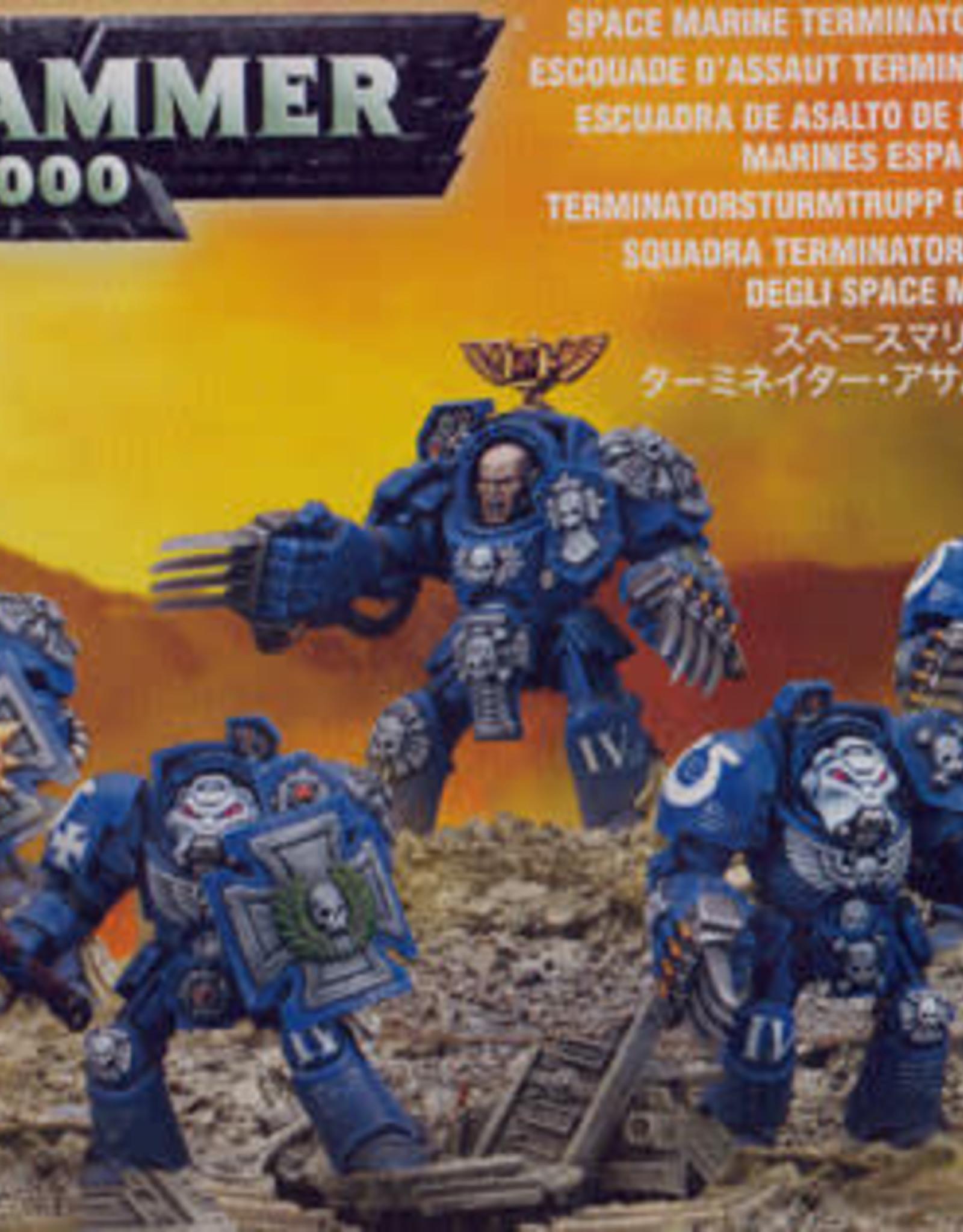 Warhammer 40K Space Marine Terminator Close Combat Squad