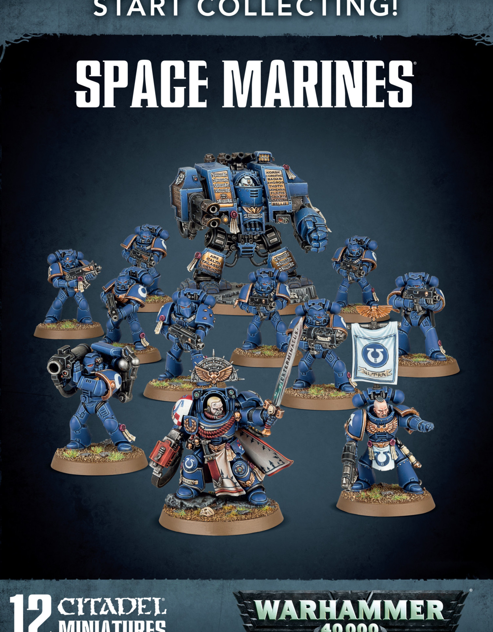 Warhammer 40K Start Collecting! Space Marines