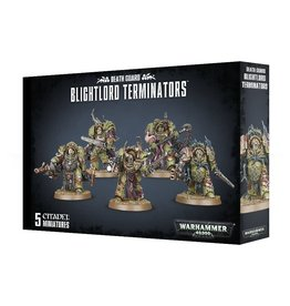 Warhammer 40K Death Guard Blightlord Terminators