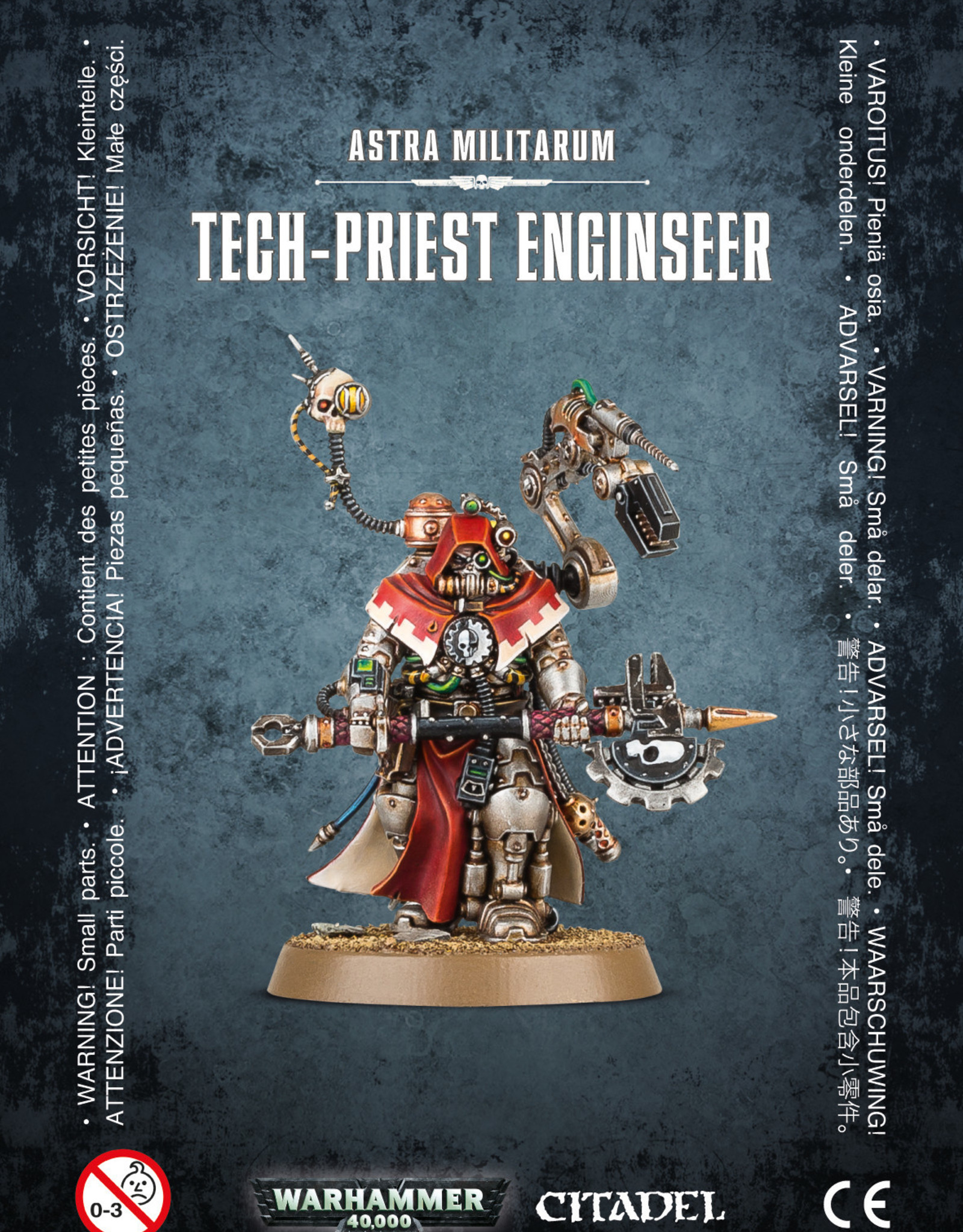 Warhammer 40K Astra Militarum Tech-Priest Enginseer