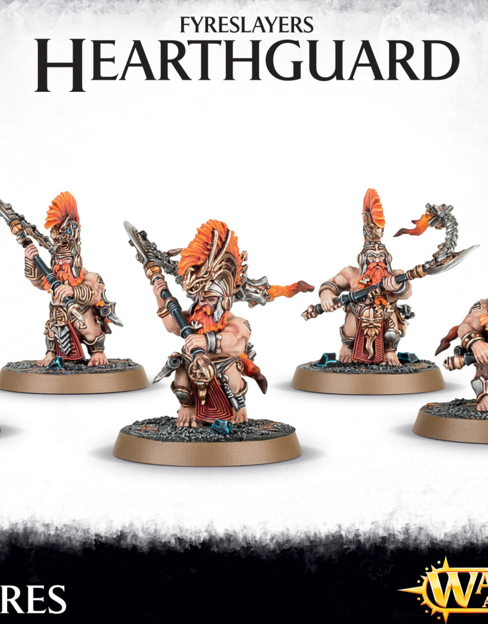 Age of Sigmar Fyreslayers Hearthguard