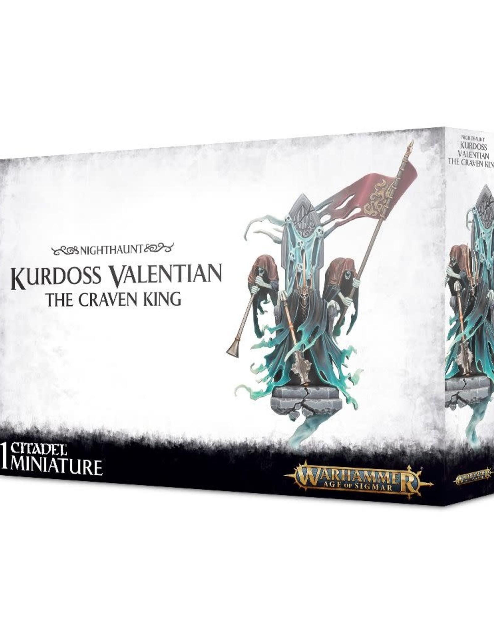 Age of Sigmar Kurdoss Valentian, The Craven King