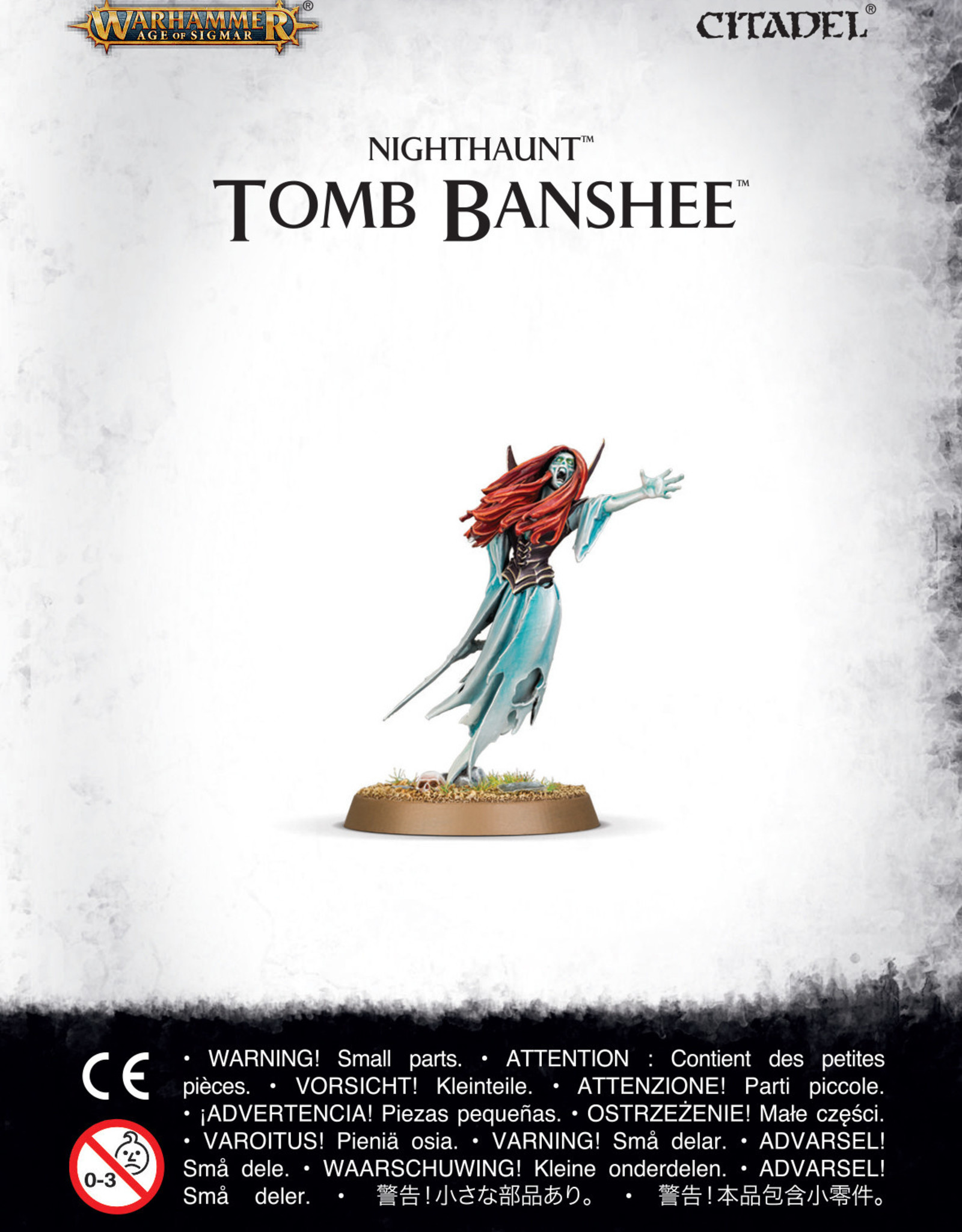 Age of Sigmar Nighthaunt: Tomb Banshee